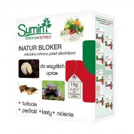 Natur Bloker 1kg chroni przed turkuciami, pędrakami, nicieniami, kretmi