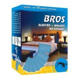 Bros elektrofumigator na komary + wkłady