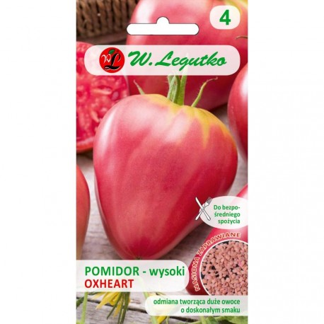 LG Pomidor Oxheart typ Bawole Serce 0,2g inkrustowany