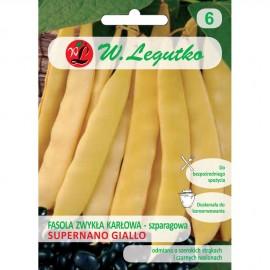 LG Fasola karłowa o czanych nasionach Supernano Giallo 40g