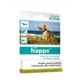Happs krople przeciw pchłom i kleszczom pies 10kg