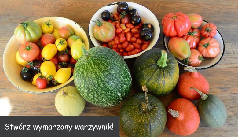 Stwórz wymarzony warzywnik